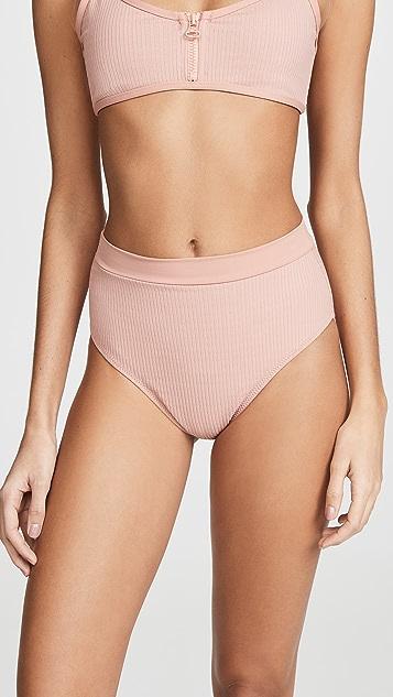 Tavik Swimwear Pernille Bikini Bottoms - Desert Rose