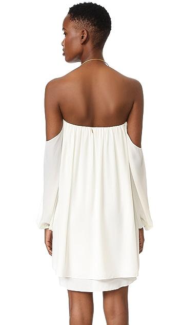 MISA Off the Shoulder Dress