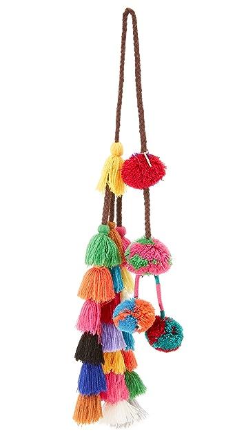 Misa Lucja Pom Pom Bag Charm Shopbop