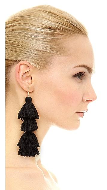 MISA Solid Tassel Earrings