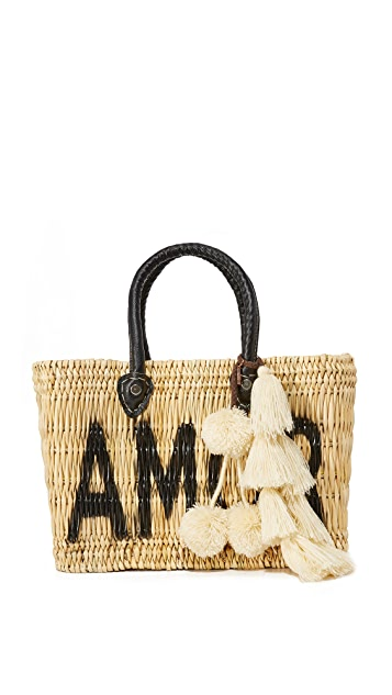 MISA Amor Jane Box Bag