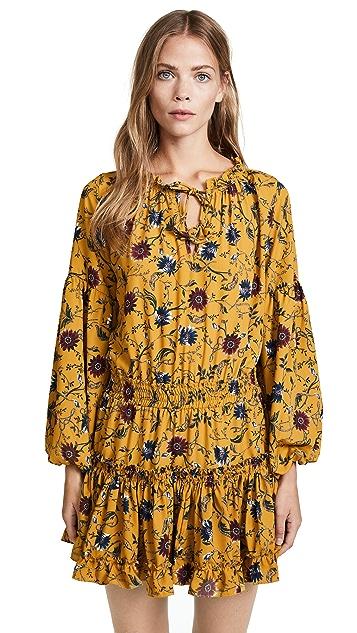 MISA Violet Dress