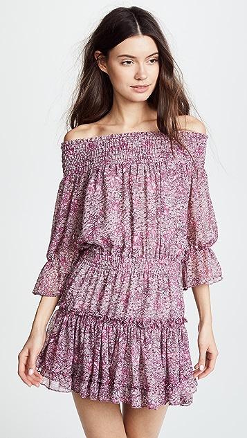 MISA Castellar Dress - Violet Multi