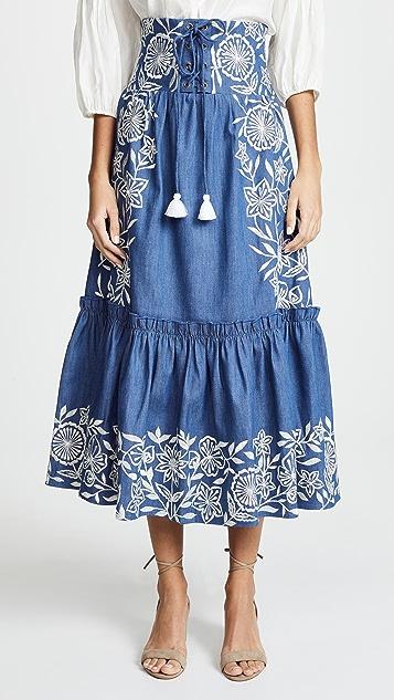 MISA Louisa Skirt - Blue