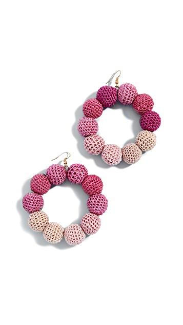MISA Crochet Dot Earrings