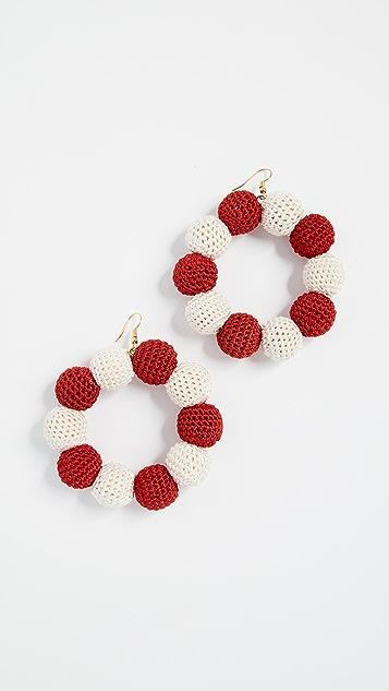 MISA Crochet Dot Earrings