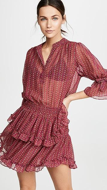 MISA Inge Dress - Red