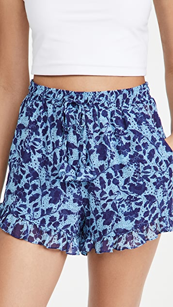 MISA 花卉短裤
