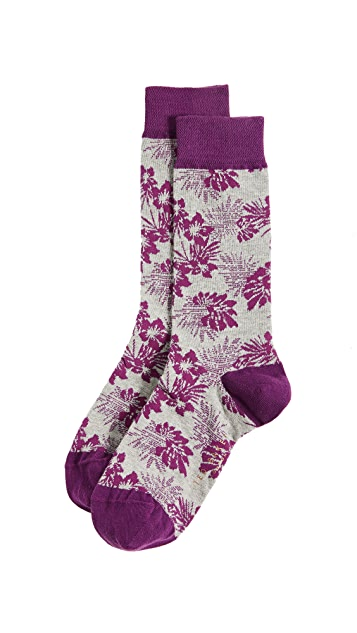 Ted Baker Tincann Palm Socks