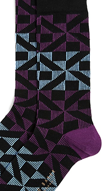 Ted Baker New Home Pattern Socks