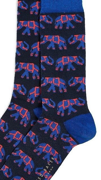 Ted Baker Markfro Elephant Socks