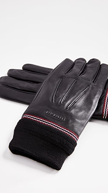 Ted Baker Dockers Leather Gloves