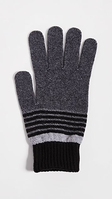 Ted Baker Twins Striped Gloves