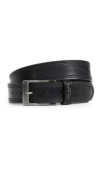 Ted Baker Stitched Leather Belt