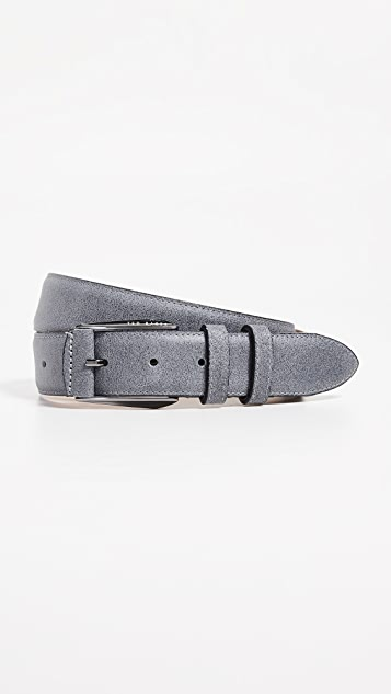 f0f1c66ff100 Ted Baker Waxed Suede Belt