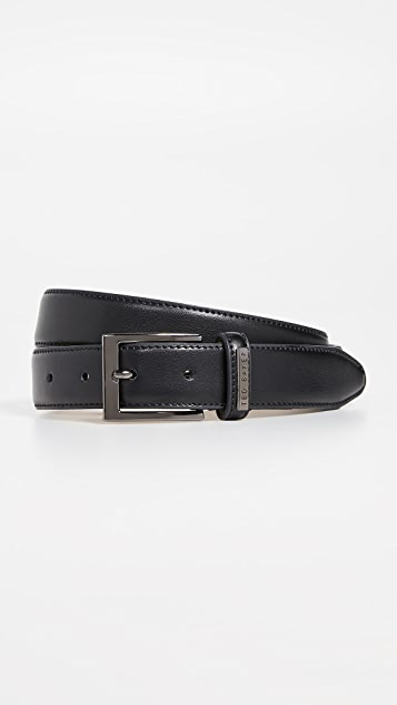 Ted Baker Leather Keeper Plate Belt
