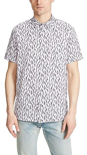 Ted Baker Woolrus Short Sleeve Shirt