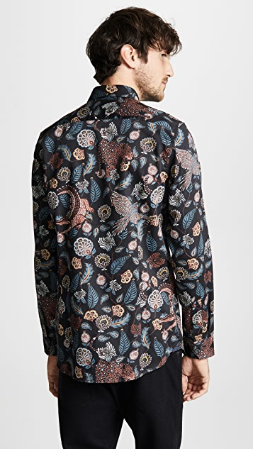 098da2b81cdb98 ... Ted Baker Vauxhal Long Sleeve Shirt ...