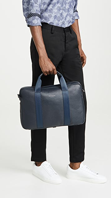 Ted Baker Importa Leather Briefcase