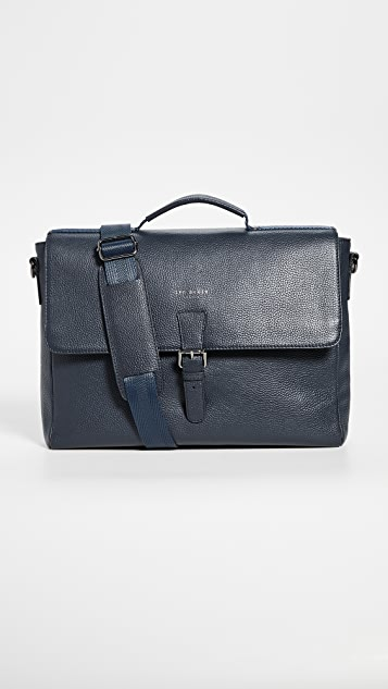 Ted Baker Departs Leather Briefcase
