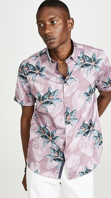 Ted Baker Mathew Micro Print Shirt