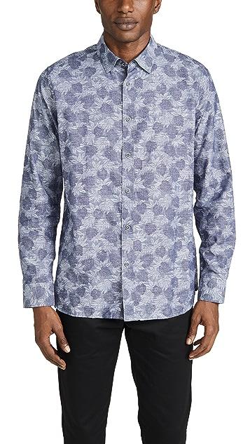 Ted Baker Charlez Floral Shirt