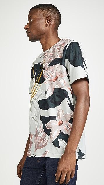 Ted Baker Litwork Floral T-Shirt