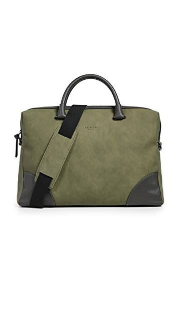 Ted Baker Nubuck Document Bag