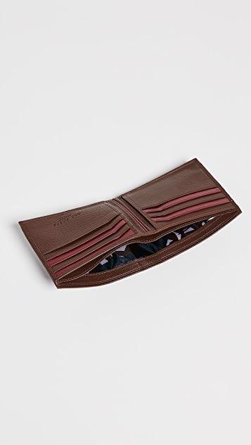 Ted Baker Stripe Detail Bifold Wallet