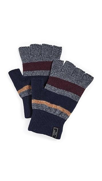 Ted Baker Leeson Rib Detail Knitted Gloves
