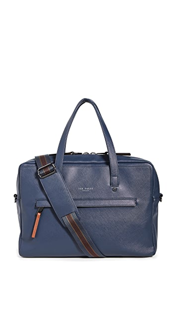 Ted Baker Clownz Crossgrain Document Bag