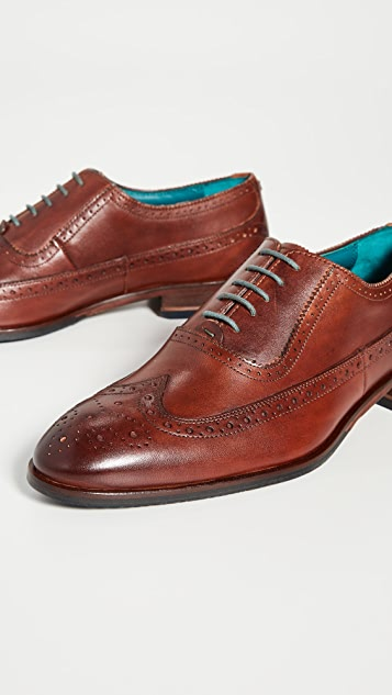 Ted Baker Asonce Wingtip Lace Up Shoes