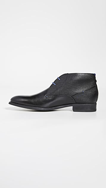 Ted Baker Chemna Leather Chukka Boots