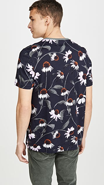 Ted Baker Flower Print T-Shirt