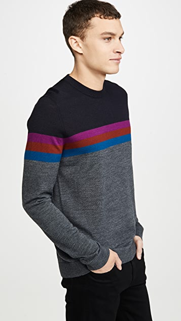 Ted Baker Cowes Colorblocked Sweater