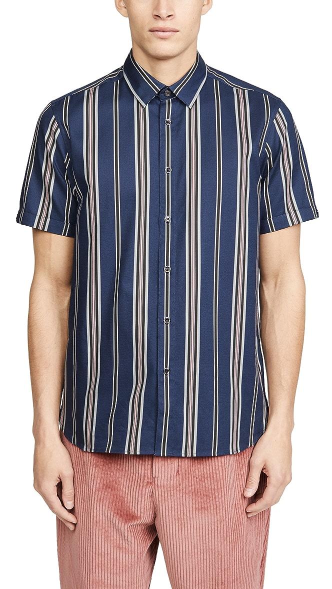 Ted Baker Mens Doigt Striped Shirt