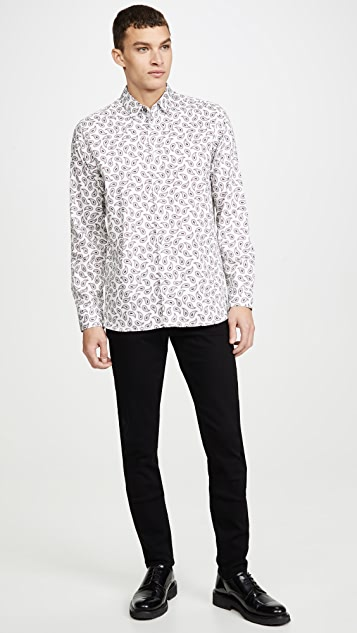 Ted Baker Lapins Paisley Shirt