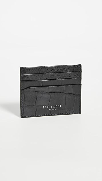 Ted Baker Card Case and Money Clip Set