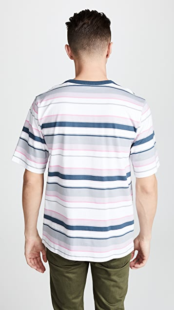 Tres Bien Volume Cotton Stripe Tee