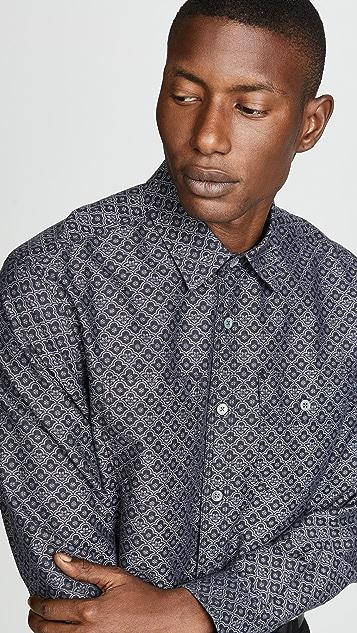 Tres Bien Jacquard Work Shirt