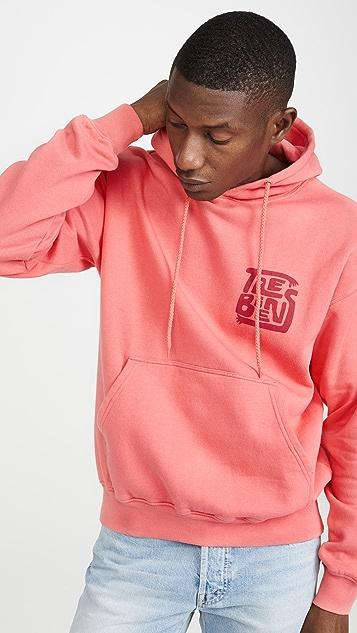 Tres Bien Souvenir Hood Hands Logo Sweatshirt