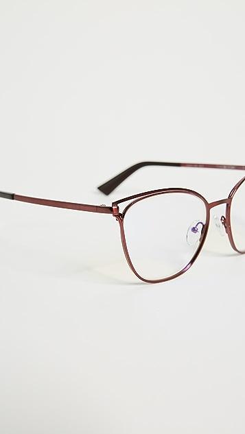 ec5482cadb8 ... The Book Club The Dutiful   Scammed Strain Free Glasses ...