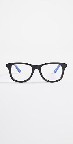 The Book Club - Blue Light Grime In Banishment Glasses