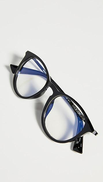 The Book Club Blue Light  Night Team Crazy For Glasses