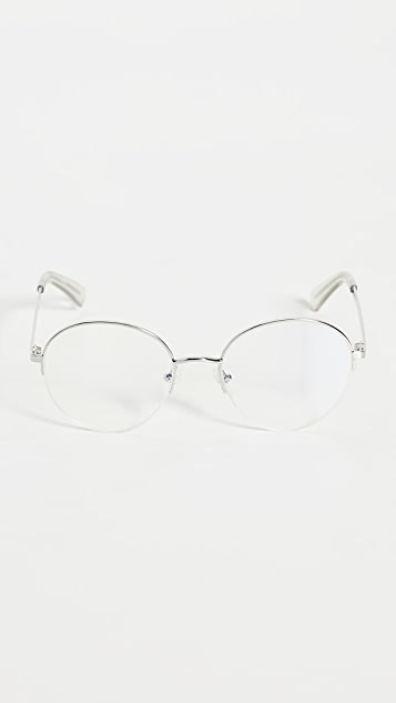 The Book Club Frog And Toad Blue Light Glasses