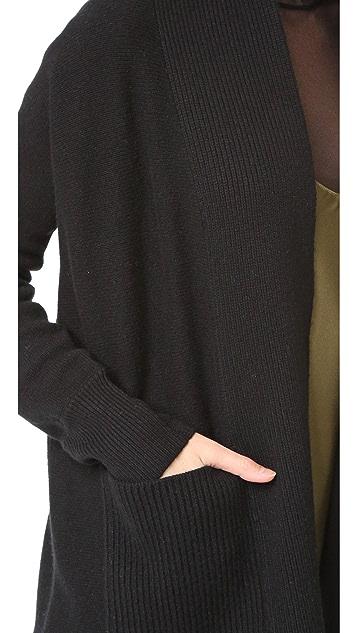 TSE Cashmere Cashmere Shawl Collar Cardigan