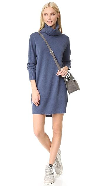 TSE Cashmere A-Line Cashmere Dress