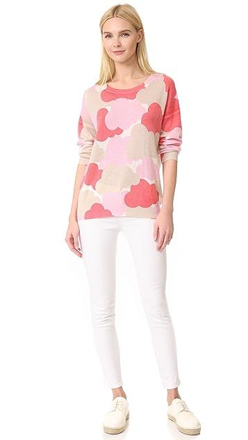 TSE Cashmere Claudia Schiffer x TSE Cashmere Cloud Sweater