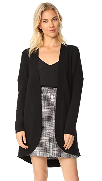 TSE Cashmere Long Sleeves Cocoon Cardigan