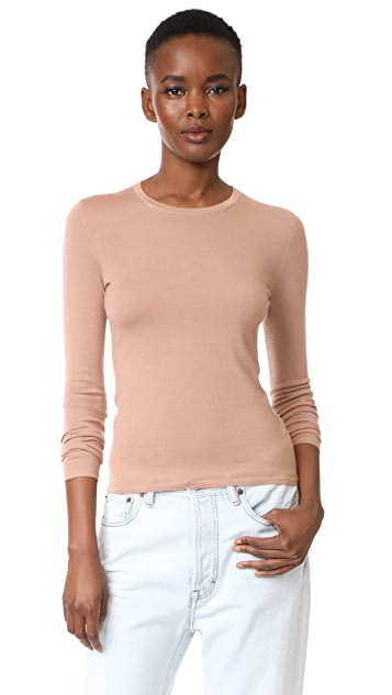 TSE Cashmere Long Sleeve Crew Neck Sweater